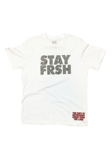 STAY FRSH Cement Tee