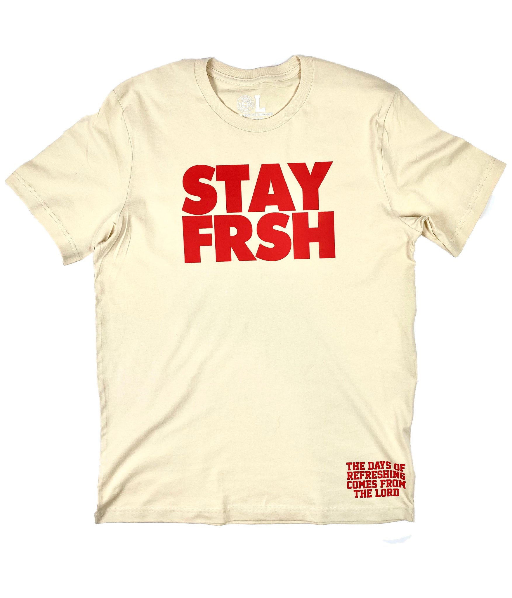 STAY FRSH Cream Berry Tee