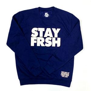 STAY FRSH Fleece Cru - Navy