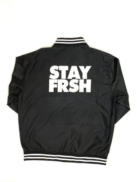 STAY FRSH Lightweight Logo Bomber