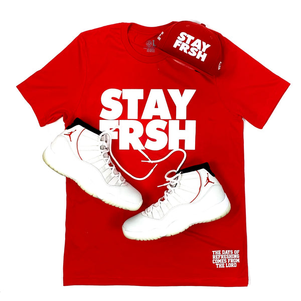 "STAY FRSH ""See Red"" Tee"