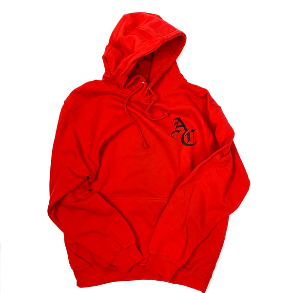 Days Of Refreshing Hoodie - Red