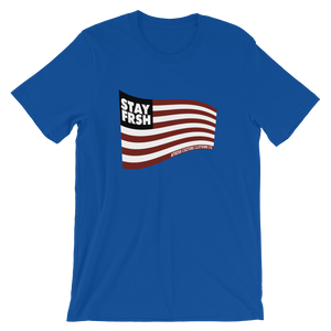 STAY FRSH Flag Tee - Royal
