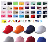Custom fashion 6 panel baseball cap