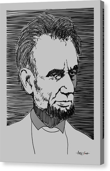 Abraham Lincoln 1 - Canvas Print