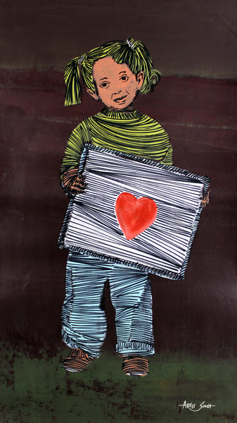 message of love by artist singh