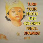 color pencil drawing by Artist sinGh