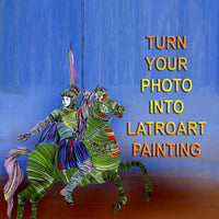 Turn your Photo into LatroArt painting