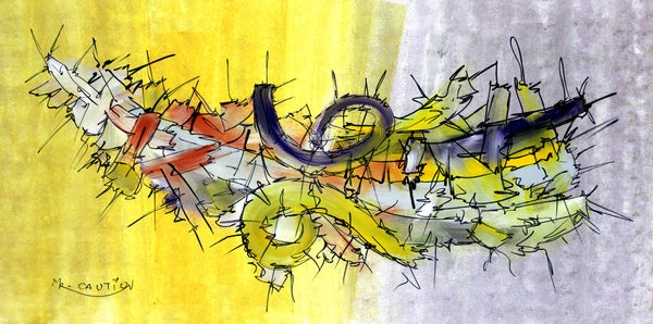 abstract 15 by artist singh