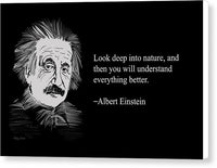 Alber Einstein 3 - Canvas Print