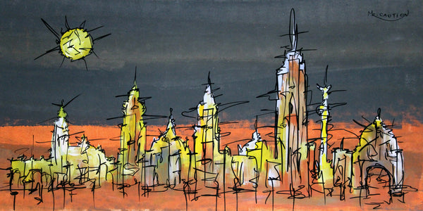 Cityscape 1 by artist singh
