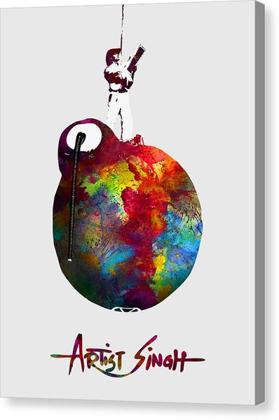 International Peace Bomb, Artprize 2009, Artist Singh, Poster - Canvas Print