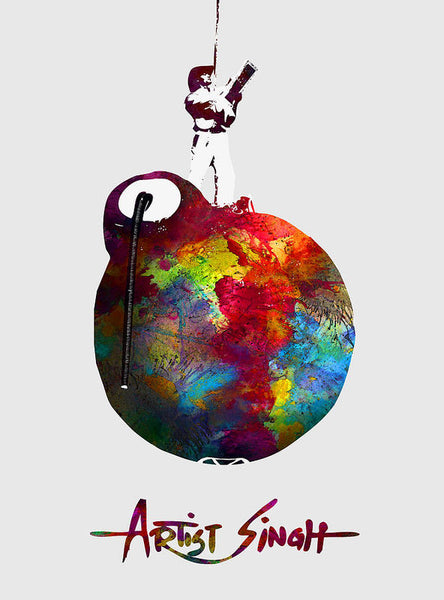 International Peace Bomb, Artprize 2009, Artist Singh, Poster - Art Print