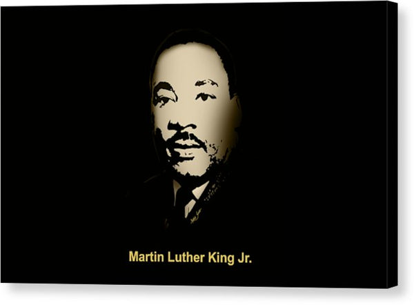 Martin Luther King Jr.  - Canvas Print