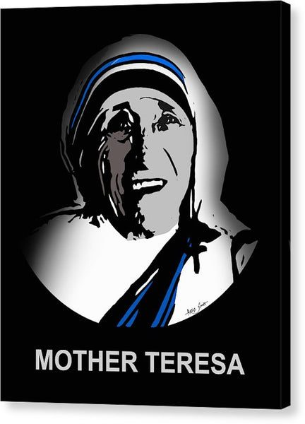 Mother Teresa - Canvas Print