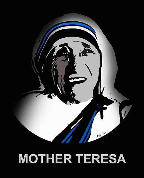 Mother Teresa - Art Print