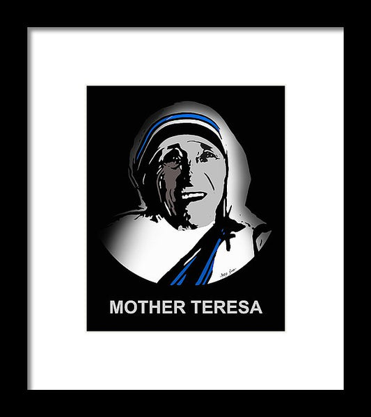 Mother Teresa - Framed Print
