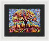 Pathway To Heaven 7824 - Framed Print