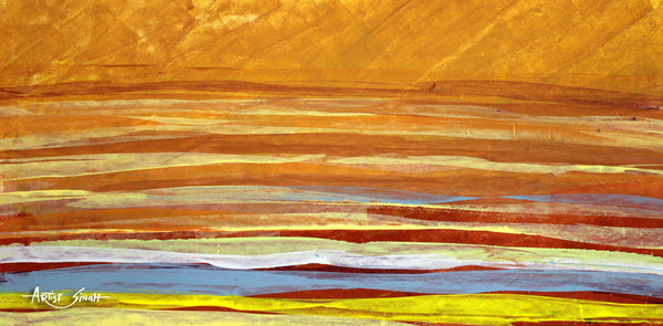 the landscape 11 by artist SinGh