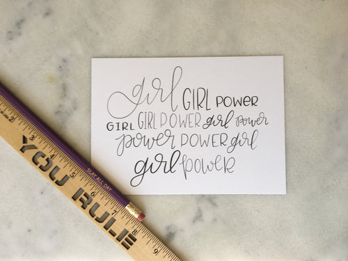 Girl Power Print