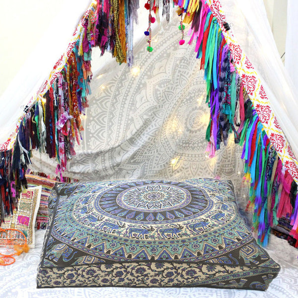 Mandala Floor Pillows – KRAFTDIRECT INC