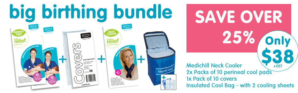 Medichill Birthing Perineal Ice Packs Neck Cooler For Hot Flushes