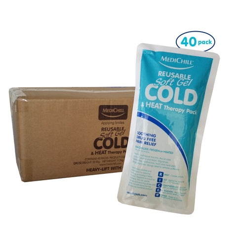 Soft Gel Ice Pack - 40 Pack