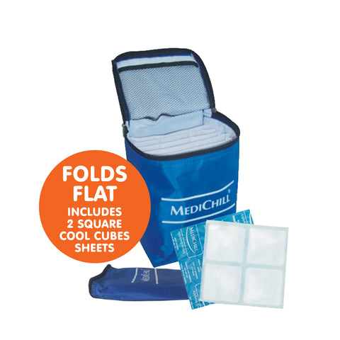 Insulated Storage Bag with Cool Cubes