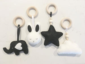 Hanging Felt toy set