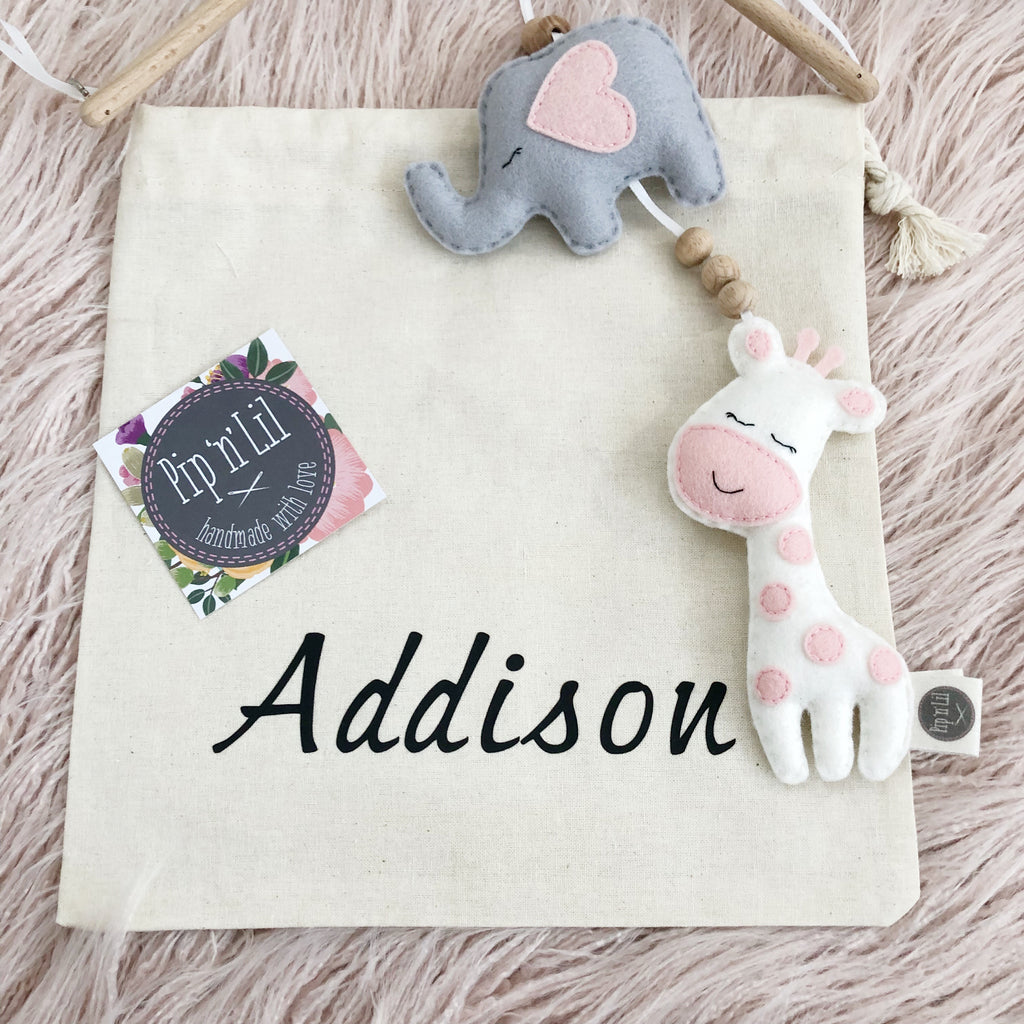 Personalised Calico Bag