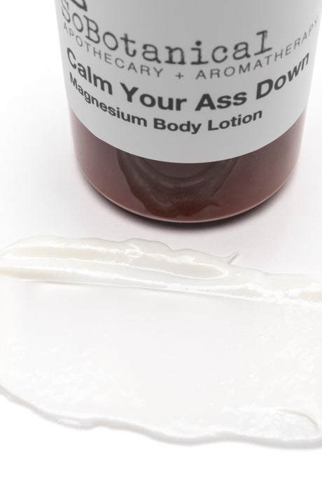 Calm Your Ass Down Magnesium Body Lotion