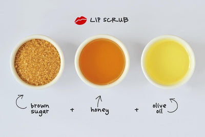 How to make a natural and easy lip scrub