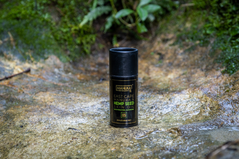 Energise Your Skin with a East Cape Manuka and Hemp Seed Skin Oil