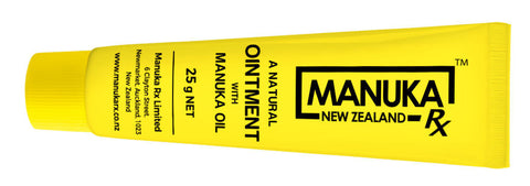 ManukaRx® Ointment is made using highest quality manuka oil
