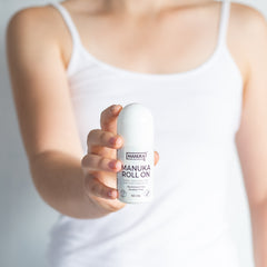 7 Reasons To Give Natural Deodorant A Try - manuka roll on deodorant, natural deodorant