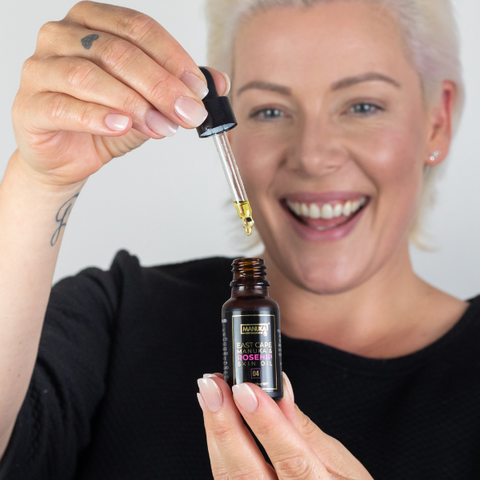 Natural Face Oil for Anti-Aging