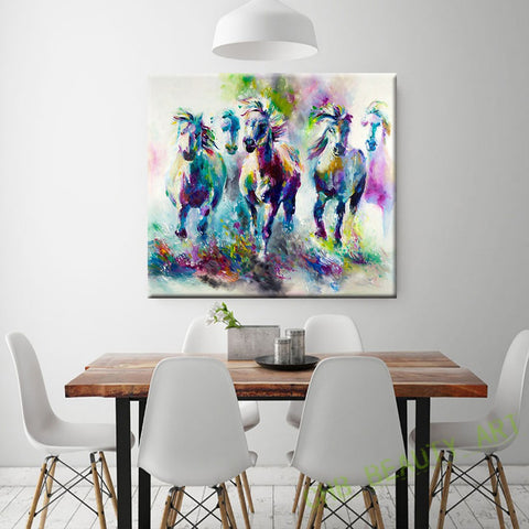horse-canvas-picture