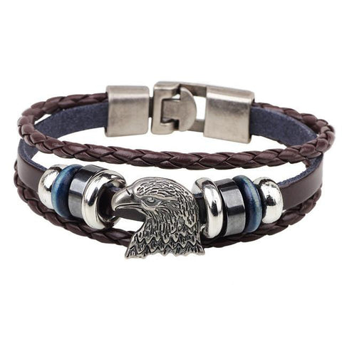 Eagle Bracelet Leather