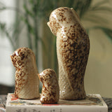 Owl Figurine Set 3PCS