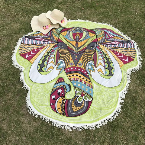 Elephant Beach Throw