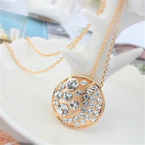 Austrian Crystal Sparkle Necklace