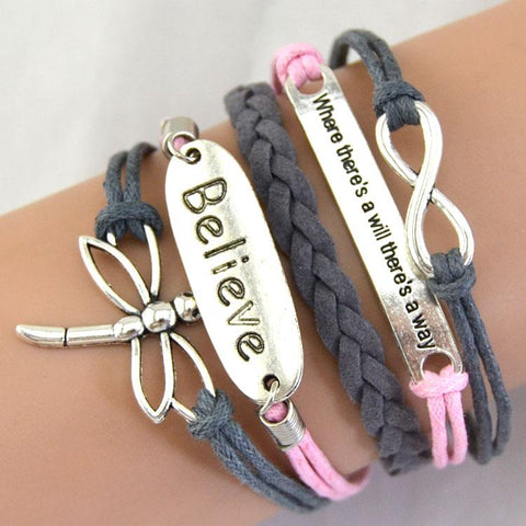 dragonfly-bracelet-leather-charm-infinity-grey