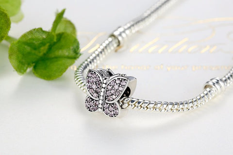 Butterfly Charm for Pandora 925 Sterling Silver