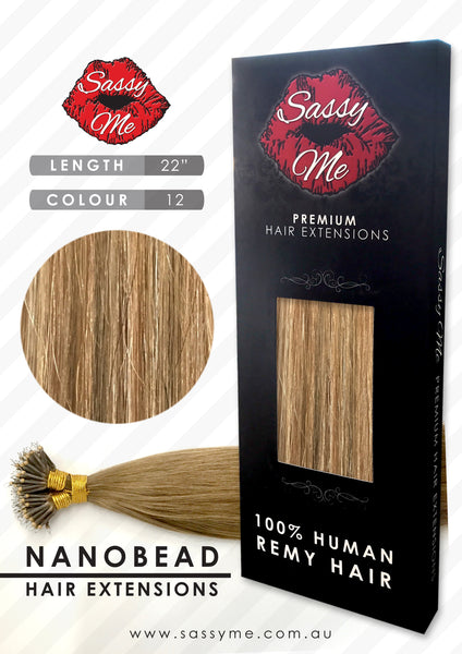 Nanobead Hair Extensions - #12