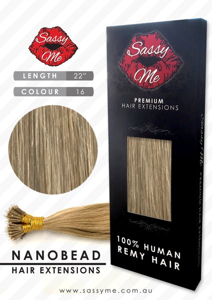 Nanobead Hair Extensions - #16