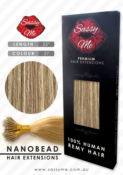 Nanobead Hair Extensions - #27