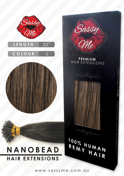 Nanobead Hair Extensions - #2