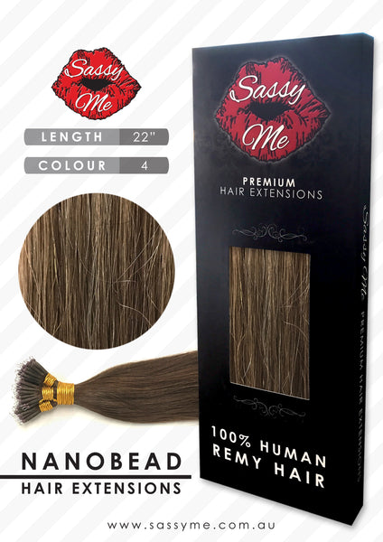 Nanobead Hair Extensions - #4