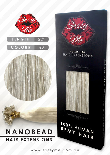 Nanobead Hair Extensions - #60