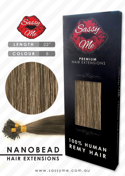 Nanobead Hair Extensions - #8